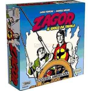 ZAGOR-ODISSEA-AMERICANA-Gioco-da-Tavolo-Italiano-Ghenos-Games-Licenza-Bonelli