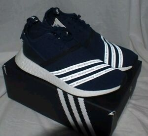 581559f46ba1e Rare Adidas X White Mountaineering NMD R2 PK Blue DS Size 5 BB3072 ...