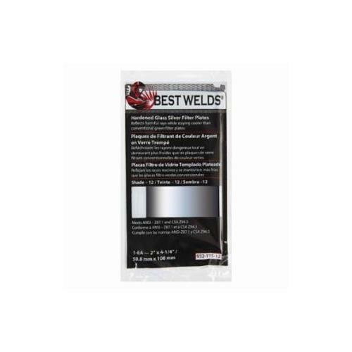 Best Welds 932-115-12 Bw-fs-2x4-1//4 #12 Silverp Late