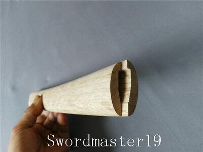 "Japanese Katana Sword 12/"" Top Grade Unglued Morozori Shape Oak Tsuka"