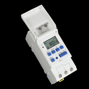 Digital-LCD-DIN-programable-semanal-temporizador-carril-AC-220V-16A-Interruptor