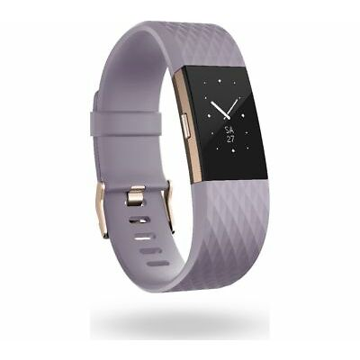 FITBIT Charge 2 - Lavender & Rose Gold, Small