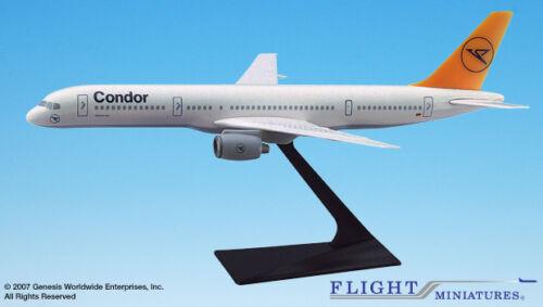 Flight Miniatures Condor Flugdienst Airlines Boeing 757-200 1:200 Scale NEW