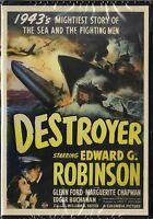 Destroyer (dvd, 2011) Edward Robinson, Glenn Ford Not Rated