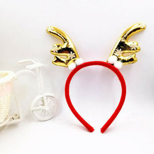 Christmas Cosplay Animal Antlers Headband Party Costume Headclip Accessories
