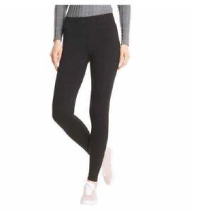 427471aa3cc64 Brand New Women's Black HUE Comfort Waistband Leggings Size Small S ...