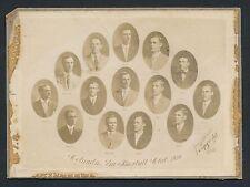 1910 COLUMBUS FOXES South Atlantic League Baseball Cabinet Photo T210 CARDS!