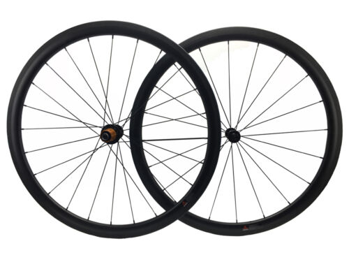 1370g 38mm carbon road bike wheelset Bitex hub 260g bicycles tubeless wheel 700C