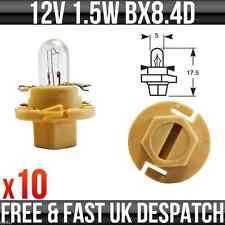 12v 1.5w BX8.4D (Beige Base) Dashboard, Indicator & Panel Bulbs 286TM x 10