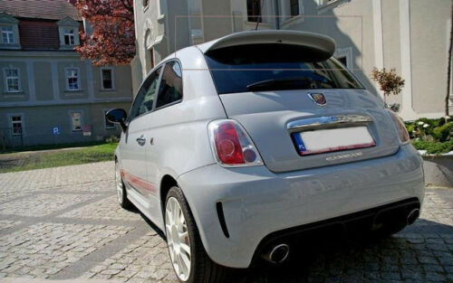 FIAT 500 ABARTH LOOK REAR ROOF SPOILER from 2007