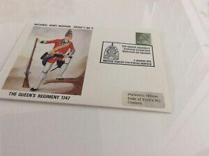 Commemorative Cover The Queen's Regiment 1747 Nam Groupe 2 #9 2 Août 1971-afficher Le Titre D'origine Soulager Le Rhumatisme Et Le Froid