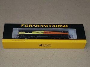 N Gauge Graham Farish 371-387 Class 66/8 66846 Colas Rail Freight Locomotive