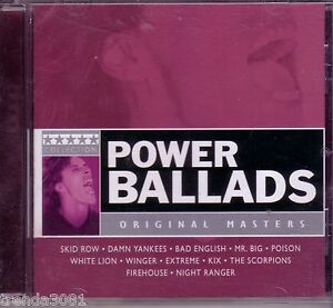 FIVE STAR Power Ballads CD Classic Great POISON SCORPIONS