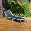 3 posizioni reclinabili sole reclinabile a letto pieghevole sedia da giardino per esterni da giardino reclinabile