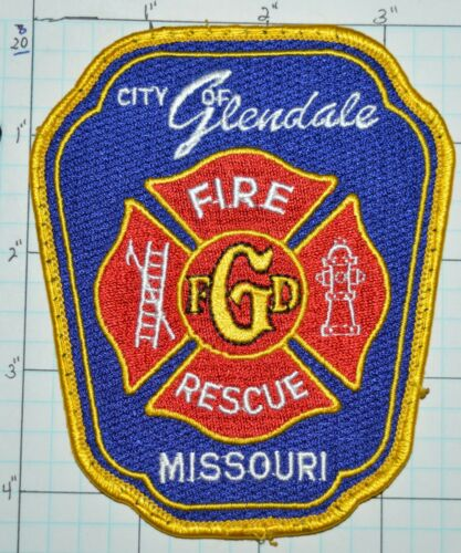 CITY OF GLENDALE FIRE DEPT RESCUE PATCH MISSOURI