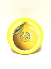The Body Shop Sweet Lemon Sugar Body Scrub NEW Large Exfoliating Discontinued
