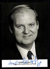 Dietrich Stobbe Autogrammkarte Original Signiert ## BC 32108