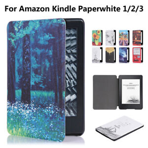 Protective-Shell-Smart-Case-Cover-PU-Leather-For-Amazon-Kindle-Paperwhite-1-2-3
