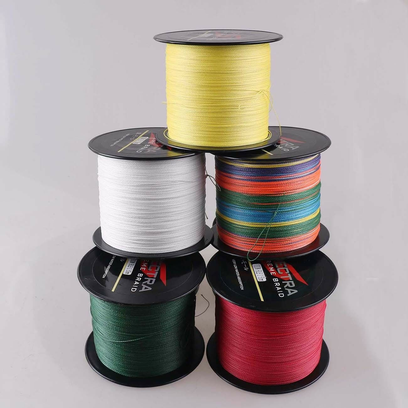2000M Super Strong Dyneema Spectr Extreme PE Braided Sea Fishing Line