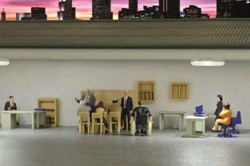 Modellwelten Bausatz 1:87 Kibri 38654 H0 Deko-Set Büromöbel