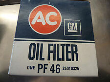 AC Delco PF-46  Engine Oil Filter NOS MADE IN USA