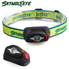 Sky Wolf Eye 2000LM Mini Zoomable 3Modes Long Range Q5 Headlamp Headlight AAA