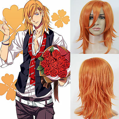 UTA NO PRINCE SAMA Jinguji Ren Anime Costume Cosplay Party Full Wig
