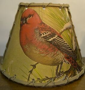 Image Is Loading Red Finch Night Light Rustic Cabin Decor Camper