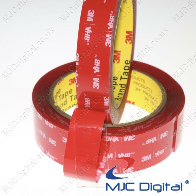 High Quality Mafco Double Sided Sticky Foam Tape 19mm Width Reel 5m Roll
