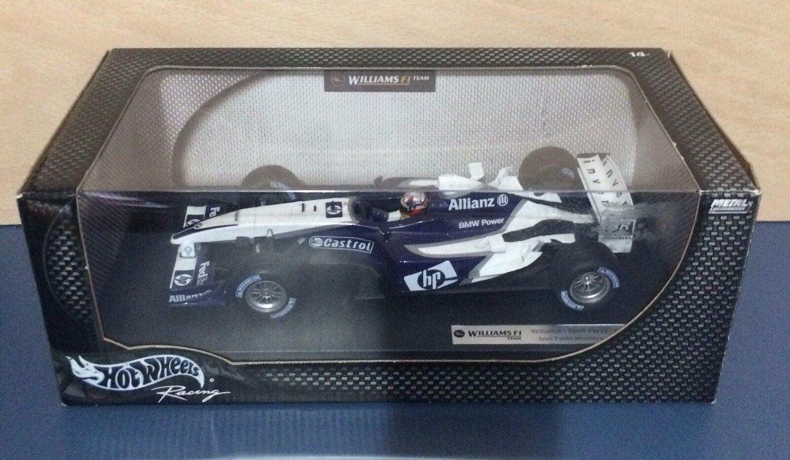 1 18 Hot Wheels F1 WILLIAMS BMW FW25 Juan Pablo MONTOYA 2003 - Formula One 1 18