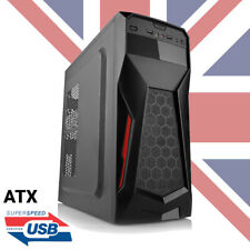 ATX/M-ATX GAMING PC COMPUTER  MID TOWER CASE - FRONT USB2 + USB3 - 25% OFF !!