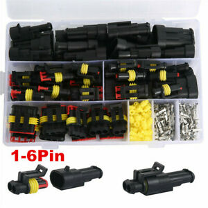 708pcs-1-6Pin-12V-Waterproof-Electrical-Wire-Connector-Plug-Cable-For-Car-Truck