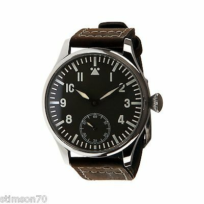 B-UHR Me 109 pilots watch,stainless steel, brand new in box + warranty card!