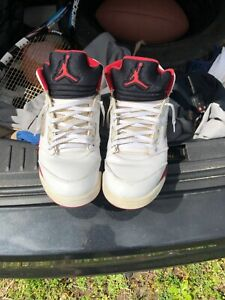 Details about air jordan 5 fire red size 10.5