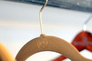 Joy Mangano Huggable Hangers (Rust w/Silver Hooks) 60