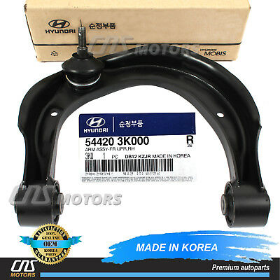 Genuine Hyundai 54420-3K000 Upper Control Arm Assembly Front Right