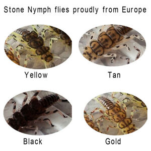 Riverruns-1-Realistic-Flies-Stone-Nymph-Flies-Colors-Trout-UV-Super-Sturdy-flies