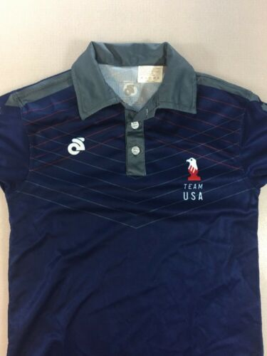 Champion System Child Team USA Chess Casual Polo Shirt Youth Small YS 5617-31