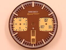 New BROWN Dial SEIKO 6138-0040 BULLHEAD Chrono Watch