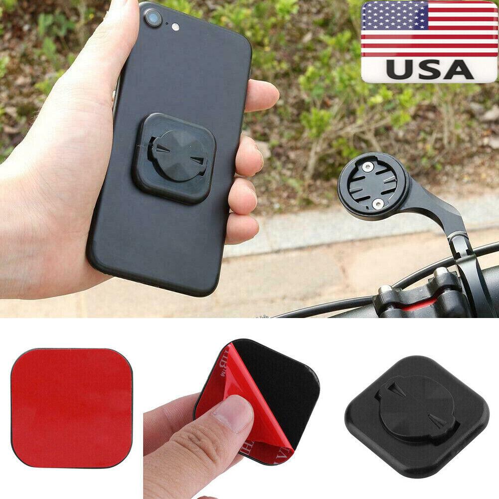 Bicycle Phone Sticker Mount Back Button Paste GPS Bracket for GARMIN KIts