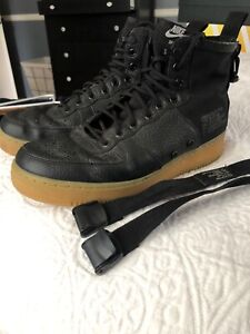 fdbf43f33a8 Details about Nike SF AF1 Mid Special Field Black Gum Light Brown Men Air  Force 1, size 10.5