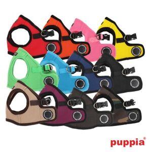 Puppia-Dog-amp-Puppy-Soft-Air-Mesh-Gilet-Veste-Harnais-B-Petite-Moyenne-ou-Grande