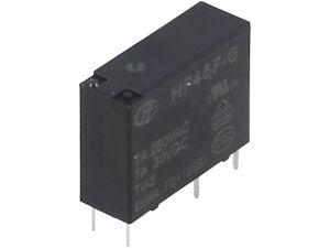 2-pcs-HF46F-G-012-HS1T-HONGFA-Relais-Relay-SPST-NO-12VDC-7A-400R-NEW-BP