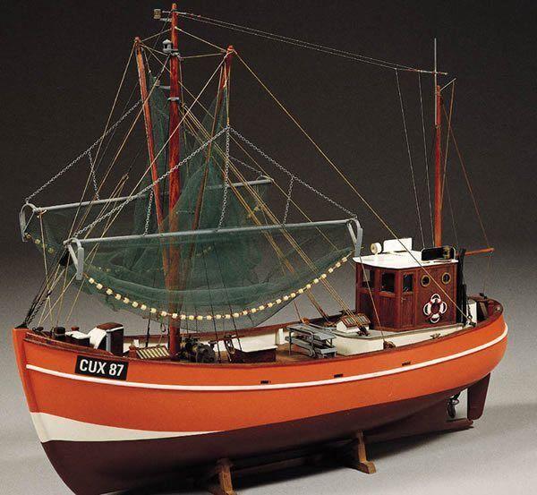 Billing Boats Cux 87 Krabbencutter (B474) Model Boat Kit