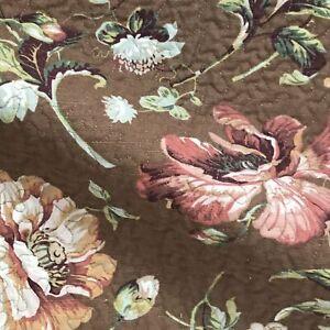 Ennis Brown Bronze Jacquard Upholstery Fabric 54