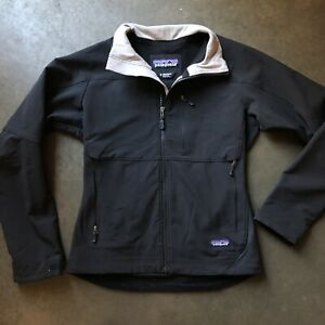 d785a0df1 Details about Men's Patagonia Guide Black Gray Lightweight Windbreaker Zip  Up Jacket Sz Small