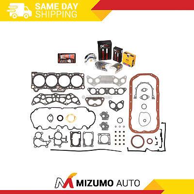 Full Gasket Set Bearings Rings Fit 89-92 Mazda 626 MX6 Ford Probe 2.2 F2