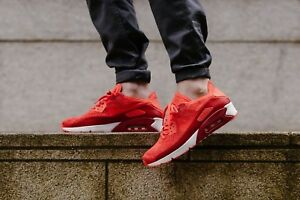 Nike Air Max 90 Ultra 2.0 2.0 2.0 Flyknit Bright crimson