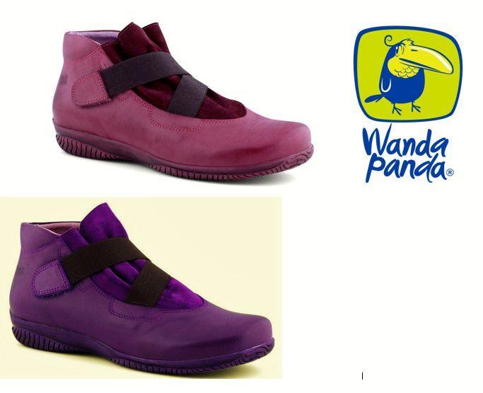 Leder Comfort Ankle Stiefel - Wanda Panda Schuhes Spain - Tender