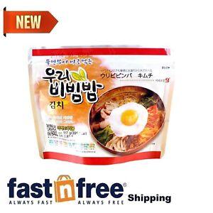 MRE Meals Ready to Eat 1 Pack of Bibimbap Korean Mixed Rice Bowl100g (3.53oz) 33